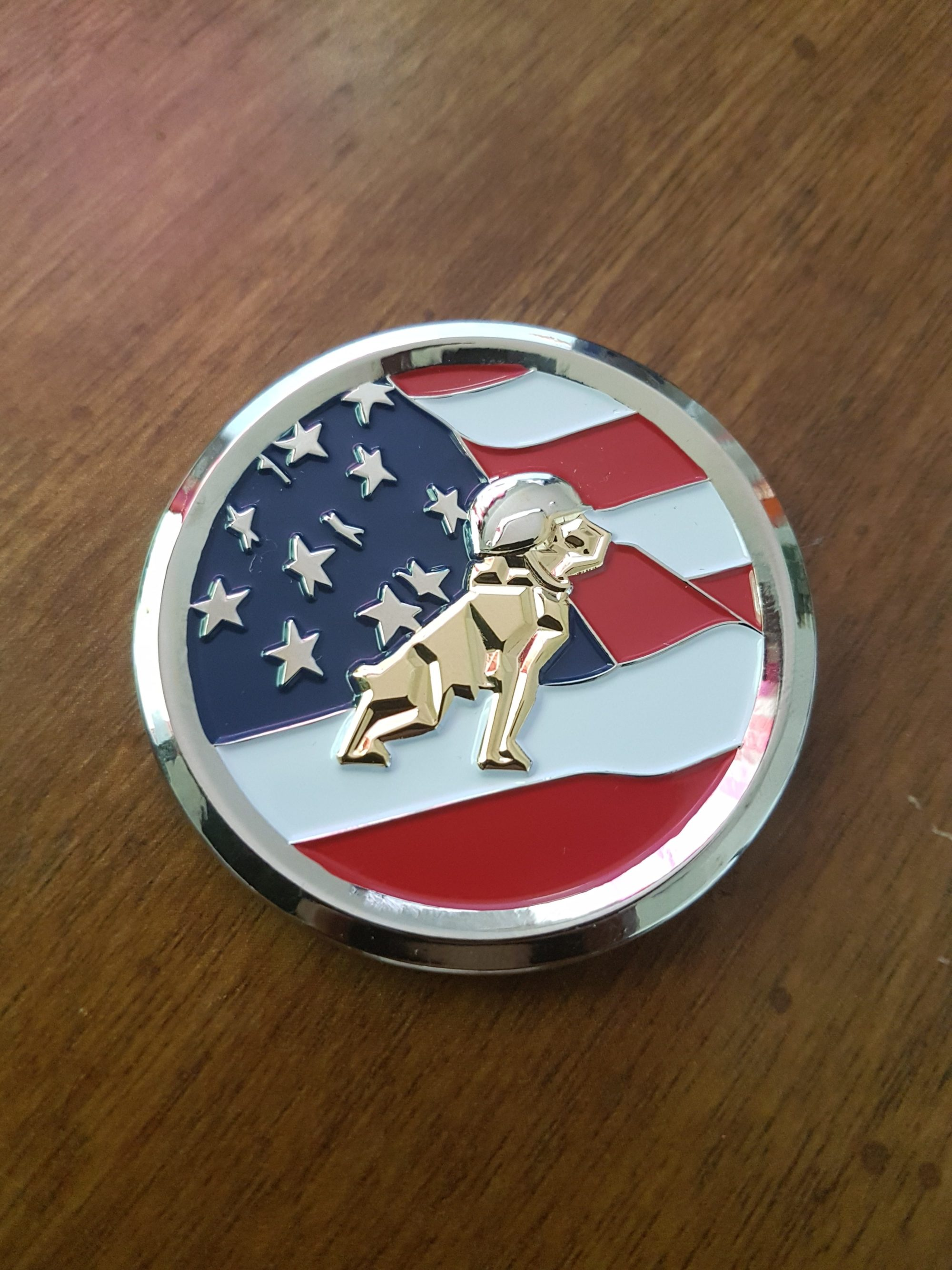 mack defense, mack defense coin, challenge coins, custom challenge coins