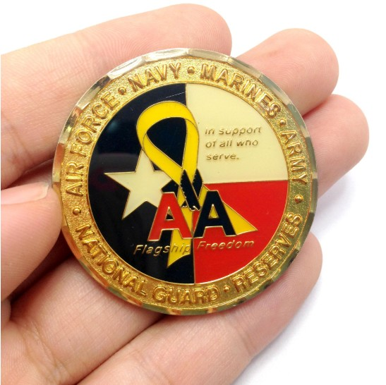 corporate challenge coins, gifts for veterans