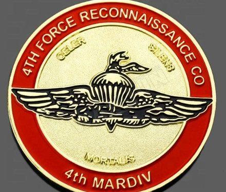 marine corps coins, custom challenge coins