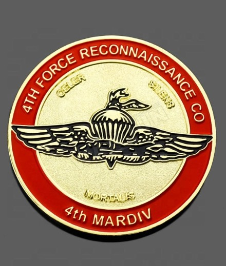 marine corps coins, custom challenge coins