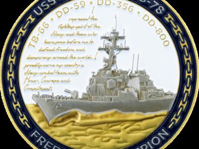 challenge coins, navy coins, best challenge coin company, challenge coins 4 u, portfolio Portfolio cdebabaf 9bd3 47bb 984f 48f00fcab564 USS Porter DDG 78 2 sat Original 400x300