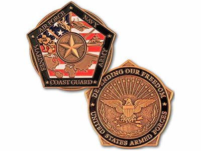 army coins of excellence