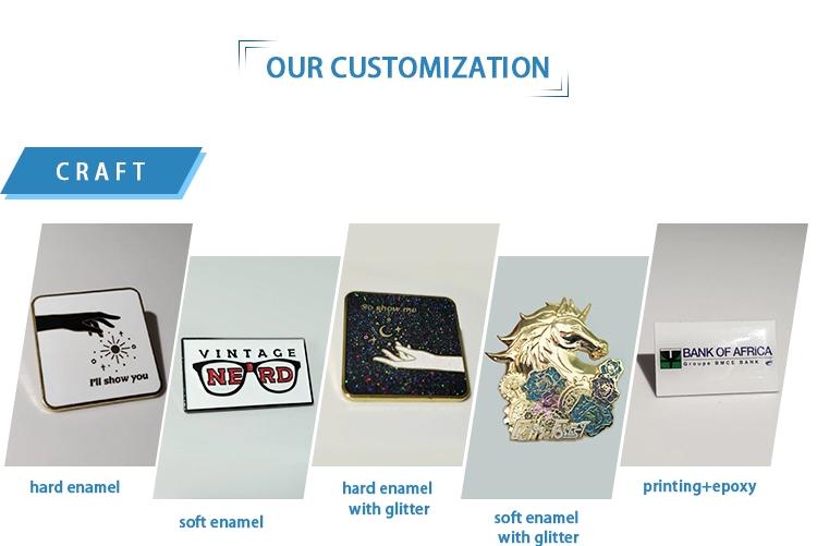 Custom Lapel Lapil design
